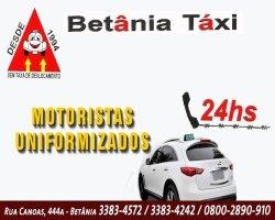 logo - Cooperativa de Táxi no Bairro Betânia BH
